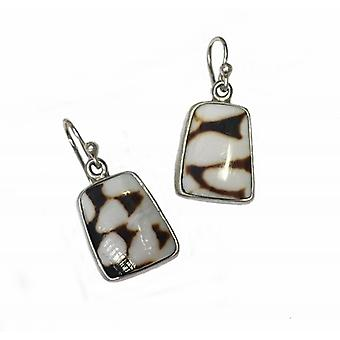 Cavendish French Marble Cone Earrings