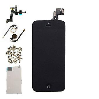 Stuff Certified ® For iPhone 5C Mounted Display (LCD + Touch Screen + Parts) AAA + Quality - Black
