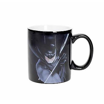 DC Comics Tasse Batman Masterworks Collection weiß, 100% Keramik, in Geschenkverpackung.