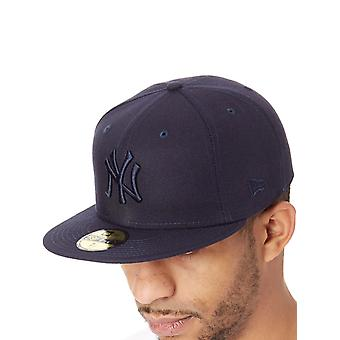 New Era Navy League Essential 59Fifty New York Yankees Fitted Cap
