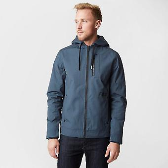 New Fox Mercer Jacket Long Sleeve Full Zip Jacket Navy