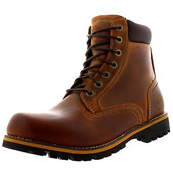 Mens Timberland Earthkeepers robuste 6inch Plain Toe Leder Stiefelette