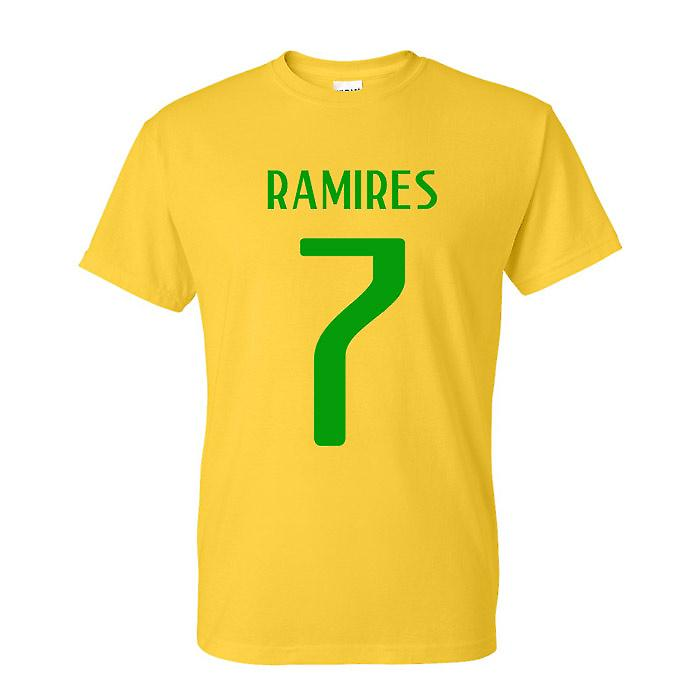 Ramires Brazil Hero T-shirt (yellow)