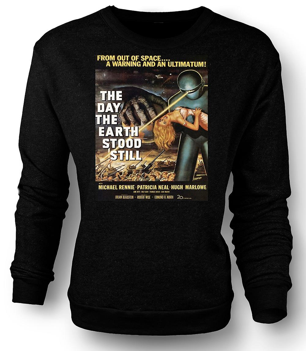 Heren Sweatshirt de Day The Earth Stood Still - B film