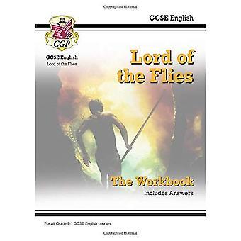 Nuevo grado 9-1 GCSE English - Señor de las moscas libro (incluye respuestas)