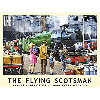 The Flying Scotsman, Small Metal Sign 200mm x 150mm (og)