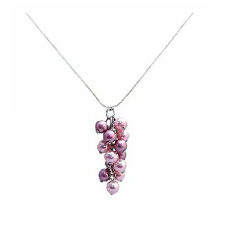 Pink Pearls Huge Selection of Pink Pearl Lowest Price Pendant Necklace