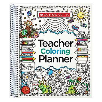 Teacher Coloring Planner