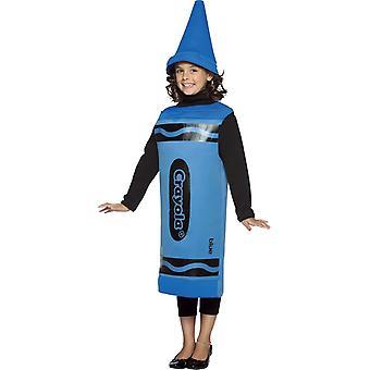 Blå blyanten Crayola Child Costume