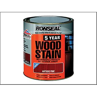 Ronseal 5 anni Woodstain pino antico 2.5 litri