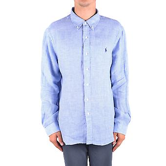 Ralph Lauren Light Blue Cotton Shirt