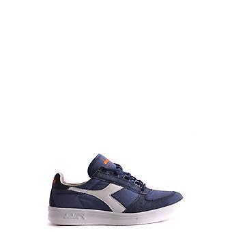 Diadora Blue Suede Sneakers