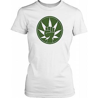 Gj├╕re marihuana - morsomme damer T skjorte