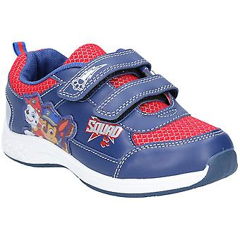 Leomil Boys Paw Patrol Lightweight Light Up Fashion Trainers