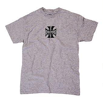 c8340767fb West Coast Choppers Herren T-Shirt Cross ATX Grey/Black
