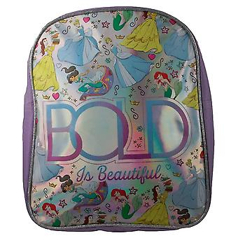 Disney Princess Bold Is Beautiful Silver iridescent Children's Backpack