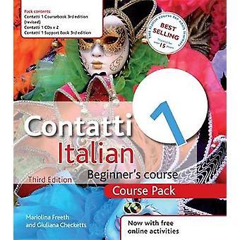 Contatti 1 Italiaanse beginners cursus 3e editie cursus pack door Mariolina Freeth & Giuliana Checketts