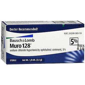 Muro 128 5% sterile ophthalmic ointment, 0.12 oz