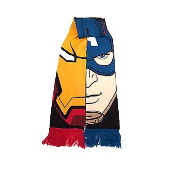 Marvel Team Stark vs Team Cap Knitted Scarf