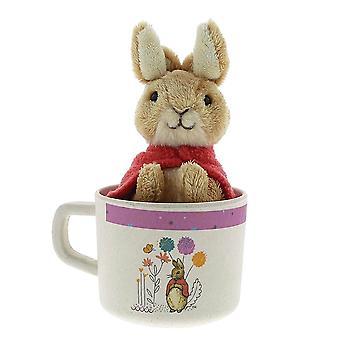 Children's Beatrix Potter Organic Mug and Soft Toy Set