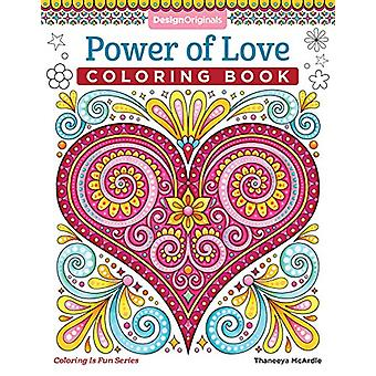 Power of Love Coloring Book by Thaneeya McArdle - 9781497203204 Book