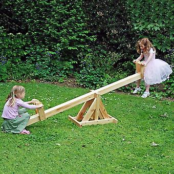Garden Games Kids Wooden See-Saw