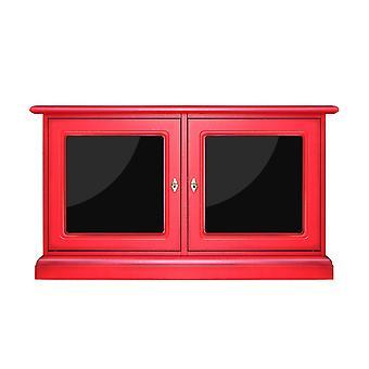 Red Credenzine 2 Doors with reflex