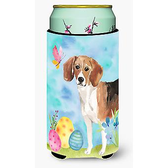 Carolines Treasures  BB9614TBC Beagle Easter Tall Boy Beverage Insulator Hugger