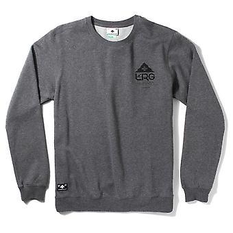 Lrg One Icon Crewneck Sweatshirt Charcoal Heather