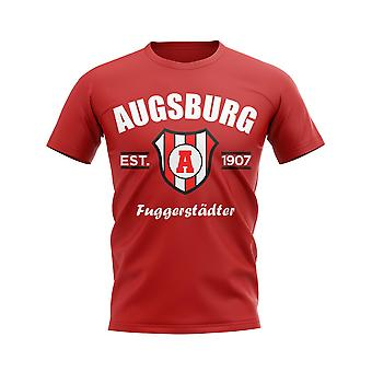 Augsburg Established Football T-Shirt (Red)