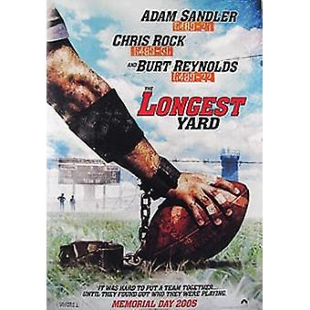 The Longest Yard (Double Sided Advance) Original Cinema Poster (Double Sided Advance) Original Cinema Poster