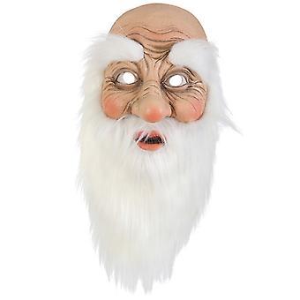 Masque de père Noël père Noël Santa Claus demi-masque