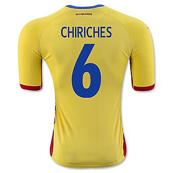 2016-17 Romania Home Shirt (Chiriches 6)