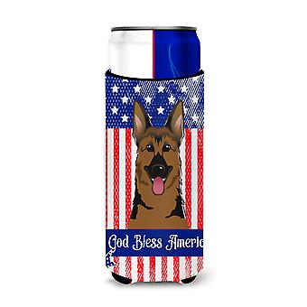 German Shepherd Michelob Ultra Koozies for slim cans BB2141MUK