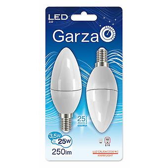 Garza 280  Led Candle 3.5W E14 250LM 27K (2 pcs)