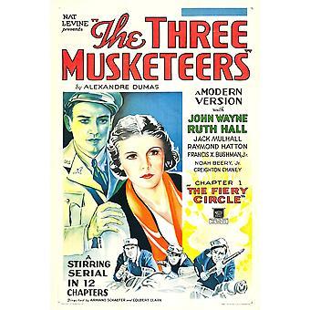 The Three Musketeers U Movie Poster Masterprint