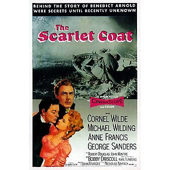 The Scarlet Coat Movie Poster (11 x 17)