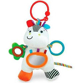 Tachan Rattle With Aros Zippy Zebra Little Pals