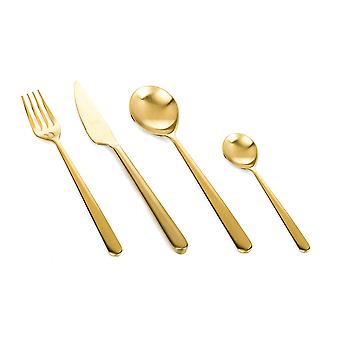 Mepra Linea Ice Oro 24 pcs flatware set