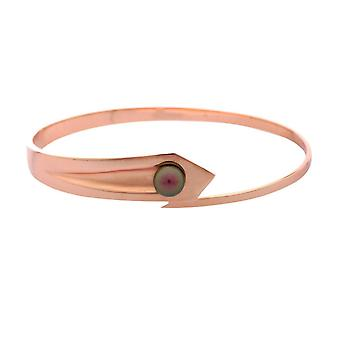 Misaki ladies Bangle silver red gold STEROID MEDIUM QCRBASTEROIDM