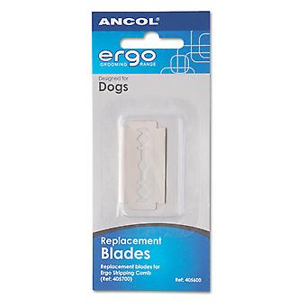 Ergo Stripping Comb Blades 3 Pack