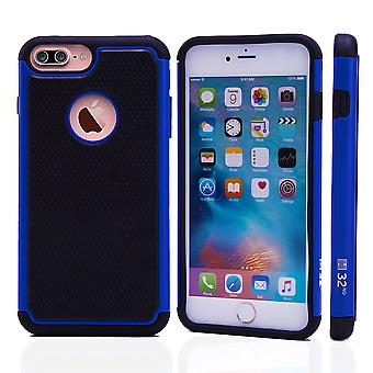 32nd Shock Proof Case + stylus for Apple iPhone 7 Plus - Deep Blue