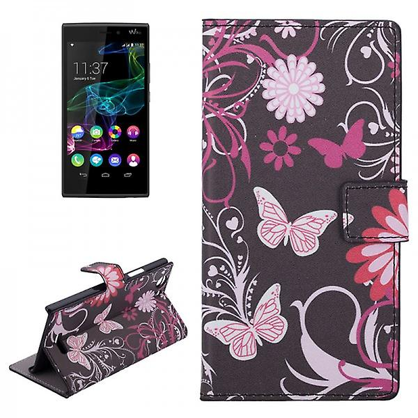 Pocket wallet premium pattern 4-to WIKO Ridge 4 G
