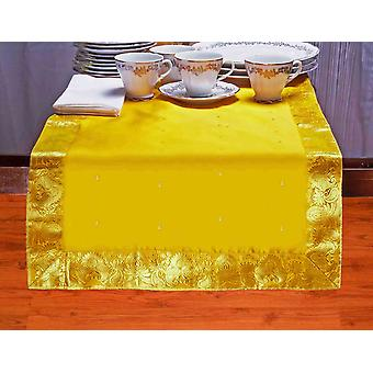 Jaune - Hand Crafted Table Runner (Inde)