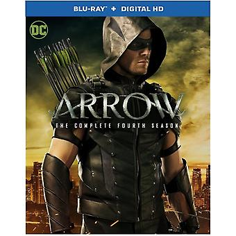 Arrow: The Complete Fourth Season [Blu-ray] USA import