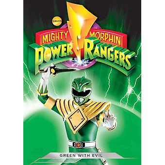 Mighty Morphin Power Rangers: Green with Evil [DVD] USA import