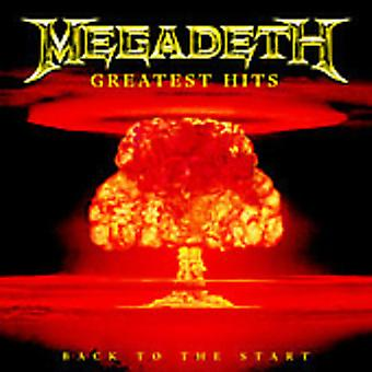 Megadeth - Greatest Hits: Back to the Start [CD] USA import