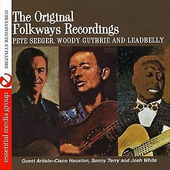 Guthrie, Woody Pete Seeger & Leadbelly - Woody Guthrie Pete Seeger & Leadbelly [DVD] USA import