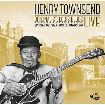 Henry Townsend - oprindelige st. Louis Blues Live [CD] USA import
