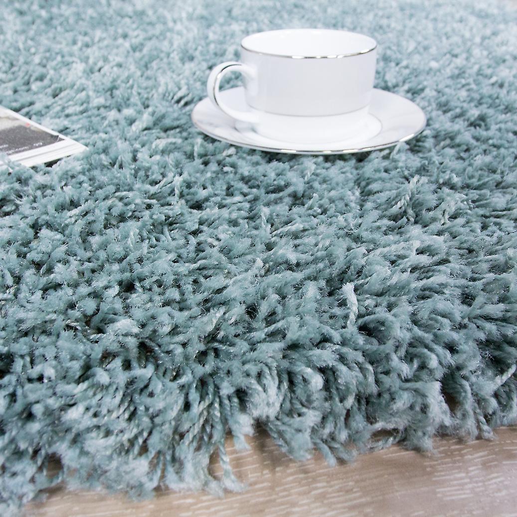 oeuf de canard bleu tapis shaggy vancouver fruugo. Black Bedroom Furniture Sets. Home Design Ideas